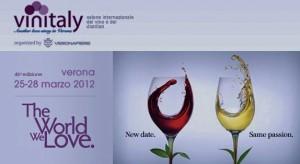 Saremo al Vinitaly 2012 presso lo Stand Regione Basilicata - Vi aspettiamo.