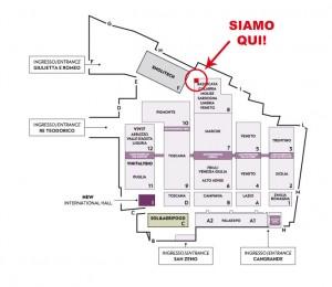 Mappa Vinitaly - Basilicata Pad 8