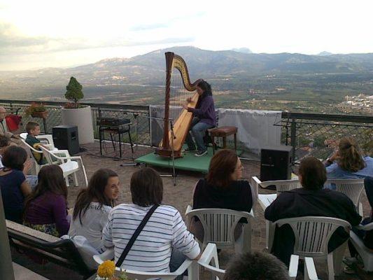 Concerti Aperitivo al Festival dell'Arpa a Viggiano