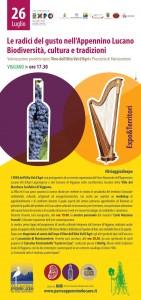 Le radici del gusto nell'Appennino Lucano, biodiversità cultura e tradizioni