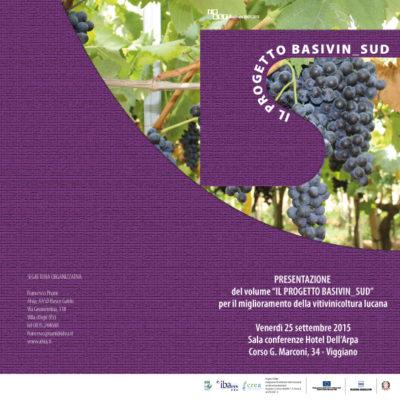 Pubblicazione delle ricerche sugli antichi vitigni Lucani