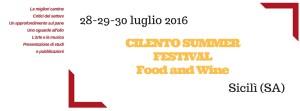 Cilento Summer Festival 2016